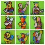 risultati del laboratorio ispirato a Picasso