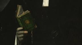 Giorgione, Uomo con libro verde (part.)